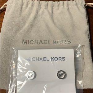Michael Kors stud earrings NEW NEVER BEEN WORN